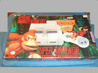 Snes Donkey Kong Bundle in Box Laurentides Québec Preview