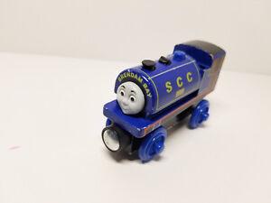 Thomas & Friends Wooden Railway Engine - Ben (blue)