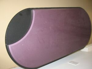 table de salon basse mauve et noire
