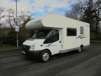 Chausson Flash 03 LOW MILEAGE 6 Berth Family Motorhome For Sale