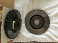 Abarth Fiat 500 standard front brake discs and pads