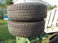 p225/60/17 inch Michelin X Ice Winter Tires / GOOD DEAL