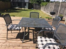 Garden furniture dinning set