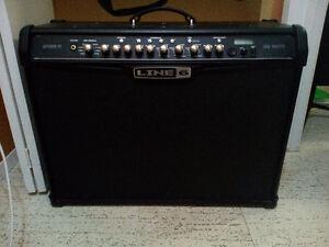 Line 6 Spider IV 150watt Guitar Amp test