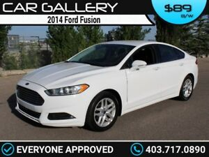 2014 Ford Fusion $89B/W QUICK  EASY FINANCING-INSTANT APPROVAL