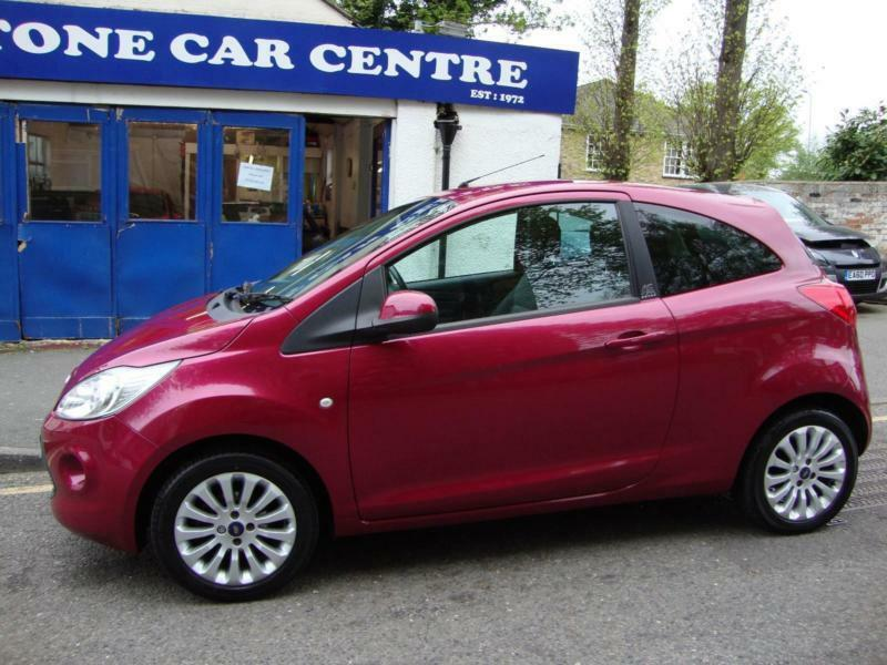 Ford Ka    Miles Bluetooth Blush Purple Pink