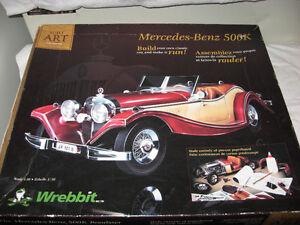 Mercedes-Benz 500k Build Art Collection