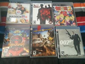 Jeux variés PS3