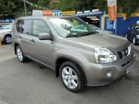 2008 58 NISSAN X-TRAIL 2.0 DCI 148 SPORT 4X4 IN GREY # 10 SERVICE STAMPS #