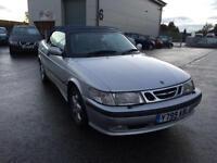 Saab 9-3 2.0t SE Convertible 2001 Y Reg