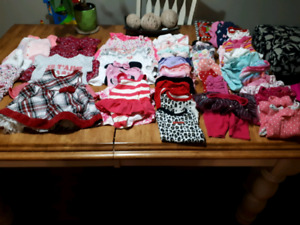 Baby girl clothes lot 0-6months