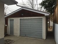 Large detached garage in Charleswood area, very good access.
