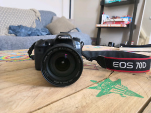 Canon 70D + 17-55 F2.8 IS USM stabilisé + 50mm