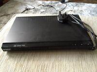 Sony slimline DVD player - barely used