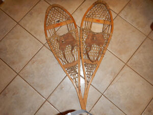 Vintage FABER Canadian Made Snow Shoes. Windsor Region Ontario image 1