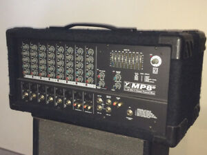 Yorkville MP8D 160W + 160W 8-Channel Powered Mixer