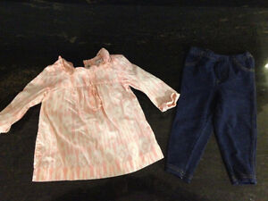 Carters Girls outfit - 9M