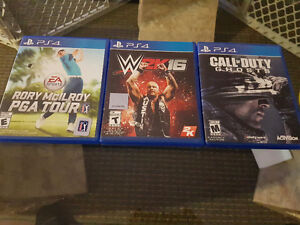 PS4 Games Mint Condition 10/10