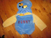 Winnie the pool pot of honey costume size 18-24 months