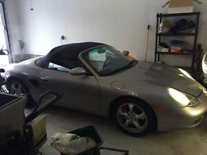 2002 Porsche Boxster S Convertible with 96000 kms