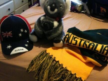 Australia Souvenirs - Koala, Scarf & Cap - Brand New - Worth $50+ Ivanhoe Banyule Area Preview