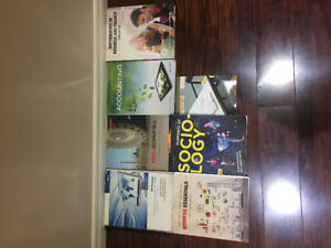 Used Textbooks for Sale QNM, ACC, ECN, BAM, SOC, EAC, SMS