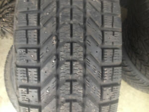 4x winterforce 225-70-r16 hiver