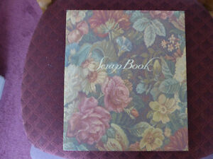 Scrap Book - Floral Cover - Hutchings & Patrick Inc.