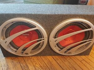 Sony Xplod Subwoofers and Amp