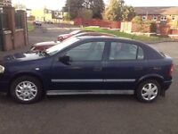 VAUXHALL ASTRA 1.4 SO LOW INSURANCE & TAX