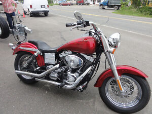 2001 Harley Davidson FXDXT(looking for trade for truck)