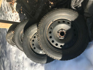Winter Force snow tires -235/55/R17