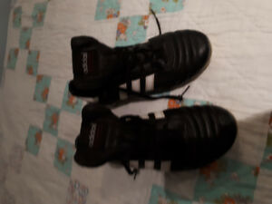 Womens Adidas leather cleats - size 8.5-9