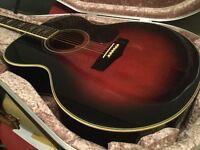 Yamaha FJ651 Country Jumbo Acoustic guitar