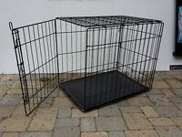 Dog Crate with Tray
