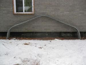 5 trust armature chevron de toit garage abrie pour toile projet