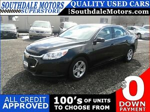 2014 CHEVROLET MALIBU LT * BLUETOOTH * LEATHER/CLOTH * LOW KM