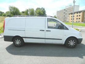 2008 (08) Mercedes-Benz Vito 2.1CDi 109 Panel Van - Long ( High Roof ) 109CDI