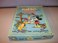 Walt Disney Series Donald and his Gang Eazy Puzzles little hands