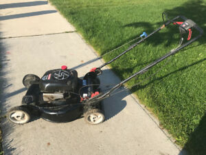 Craftsman self propelled lawnmower with easy start