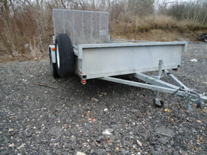 2012 6x10 Galvanized Trailer