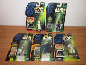 Star Wars Power Of The Force Action Figures late 90s