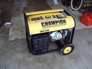 Champion Generator - 6500 running watts