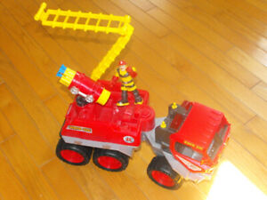 Camion de pompier Fisher Price