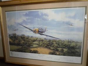 Fighter General by Graeme Lothian, signed by 8 Luftwaffe aces