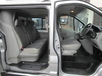 NO VAT Vauxhall Vivaro LWB 2.0CDTi Sportive 6 seat factory fitted crew cab (8)