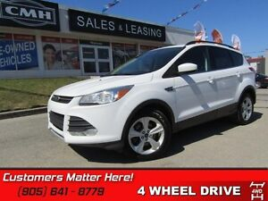 2014 Ford Escape SE   AWD, BLUETOOTH, REAR CAM  SENSORS, HEATED