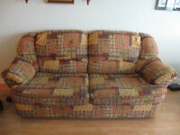 Sofa bed and rocking chairs