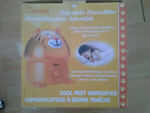 crane tiger shaped cool mist humidifier