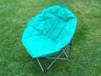Folding garden or camping chair